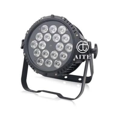 艾特光电 18颗10W四合一LED防水帕灯 舞台灯 光户外染色灯 亮化灯