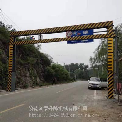 滁州航天限高杆 智能限高杆 高速公路龙门架 交通限高杆 厂家直销