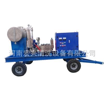 供应清淤管道疏通机宏兴HX-1535 124升大流量清淤高压清洗机