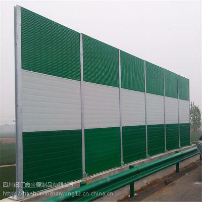 四川高速路隔音屏厂家有哪些价格多少钱?钿汇鑫品牌隔音网高架桥声屏障安装