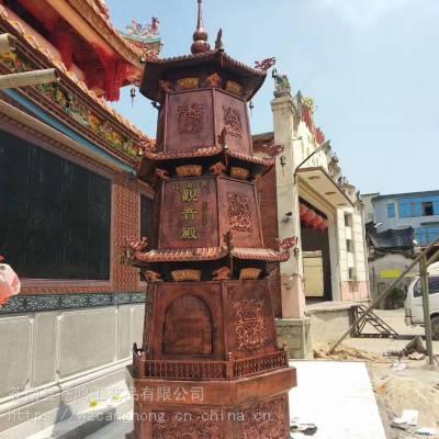 供应铸铜、铸铁一层宝鼎:-)寺庙供应仿古二层宝鼎:-)厂家订制三层宝鼎