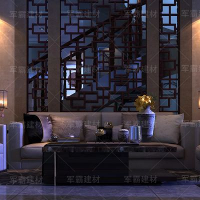 云浮中式铝窗花厂家 木纹铝窗花厂家直销