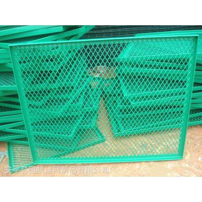 防坠落桥梁护栏网 绿色桥上防护网国帆防抛网生产厂家
