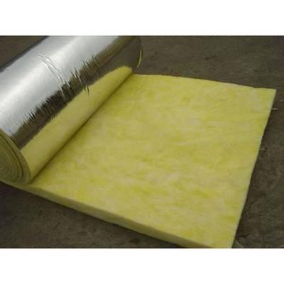 龙海市6公分阻燃铝箔玻璃棉卷毡