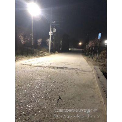 辽宁丹东6米太阳能路灯价格 鸿泰30W太阳能路灯厂家