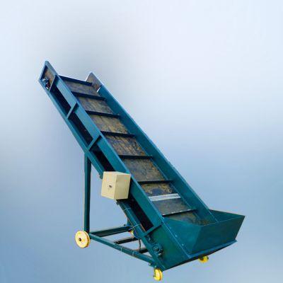 直销沙石粉末斗式提升机 稳定性好封闭式化肥瓦斗链式上料输送机