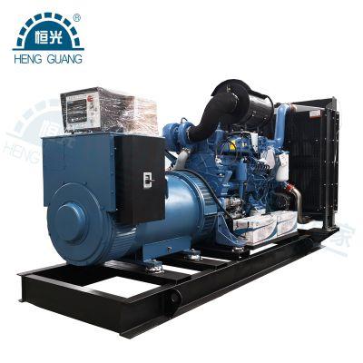OEM厂家供应600kw玉柴发电机组 电控国三排放