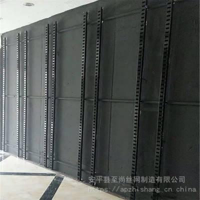 瓷砖展厅展架 陶瓷冲孔板 靠墙展示架生产厂家【至尚】