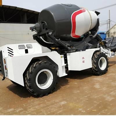 江西3立方混凝土搅拌车电子称 自动上水搅拌车生产厂家