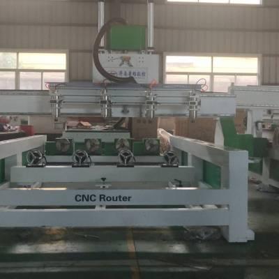 木工机械雕刻机厂家供应多功能数控木工雕刻机-多头木工雕刻机