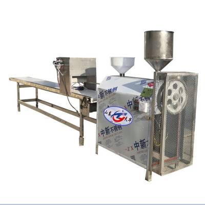 长期供应四川块状米豆腐机 特色凉虾机技术参数