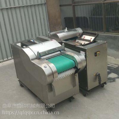 瓜果根茎状切菜机 启硕萝卜切丝切丁机 不锈钢土豆切丝机