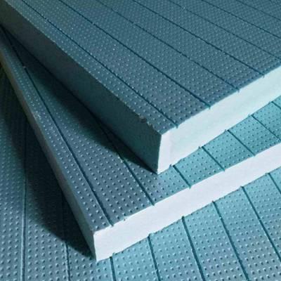 干式地暖模块保温板 薄型防火保温隔热挤塑板 开槽地暖模块