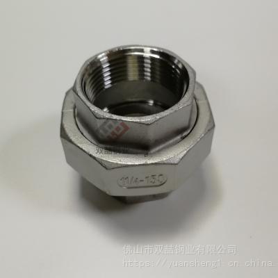 汕尾316不锈钢活接 丝扣不锈钢活接DN25 304铸件管件接头