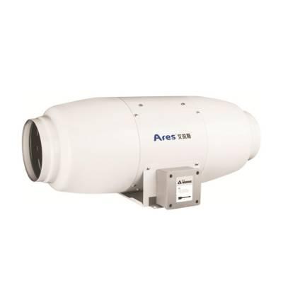 艾锐斯厂家可定制新风系统净化静音金属管道风机除甲醛管道单向流排风机