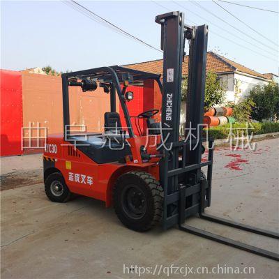 3吨载重量叉车价格 液压叉车使用视频 四轮座驾式叉车