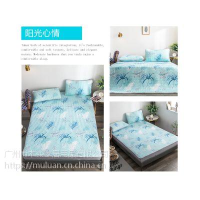 可水洗天丝乳胶凉席空调折叠软席子1.8m床夏季冰丝席1.5米三件套