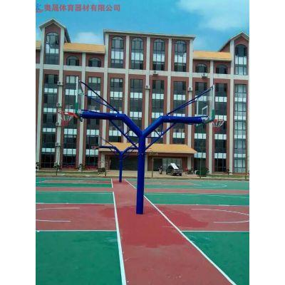 固定式篮球架有哪些款式 销售室外固定式篮球架厂家篮球架造价
