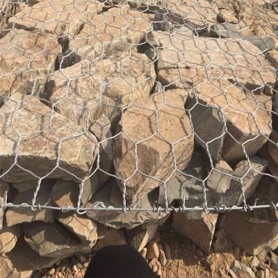 海滨防御工程石笼网 园林景观防护网 石笼网用途