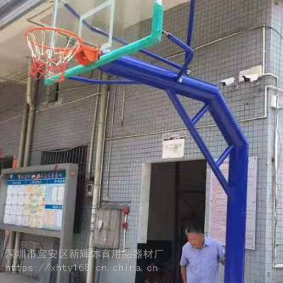 茂名电白篮球架/化州箱式移动凹箱篮球架厂家