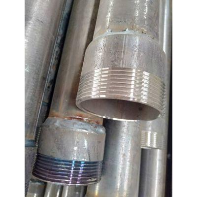 螺旋式声测管 钳压式声测管 现货供应型号齐全销往全国