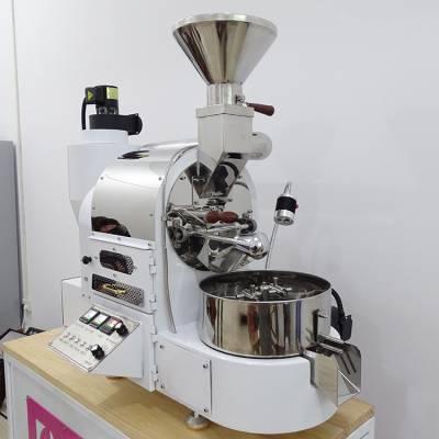 咖啡烘焙机成套设备批发 烘烤干燥设备 燃气式可选不锈钢烘焙内锅咖啡店用 南阳东亿