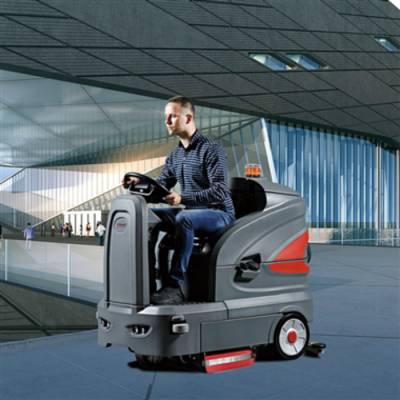 郑州驾驶式洗地机 选高美S130驾驶式洗地机 爬坡能力强 效率更高 洗得更干净