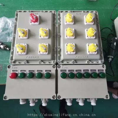 BXM(D)-钢板焊接防爆配电箱,防爆等级:ExdIICT4