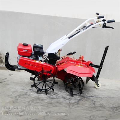 民安 188多功能柴油微耕机 旋耕翻地松土机 多用四驱自走式开沟机
