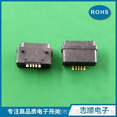 防水USB母座 MICRO 5P B型全塑型3A大电流 防水IP67X东莞厂家直销