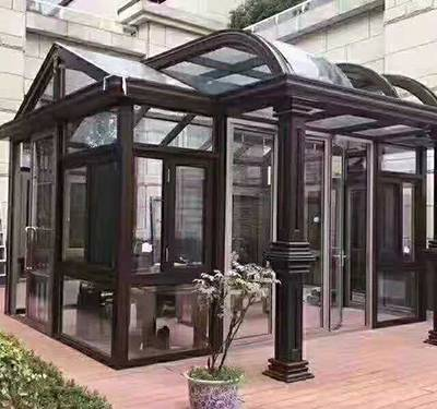 太原玻璃阳光房-山西伊莱德阳光房门窗-玻璃阳光房定做