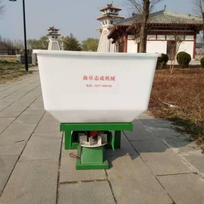 拖拉机悬挂式撒肥机 四轮轴传动施肥器 农用撒肥机厂家