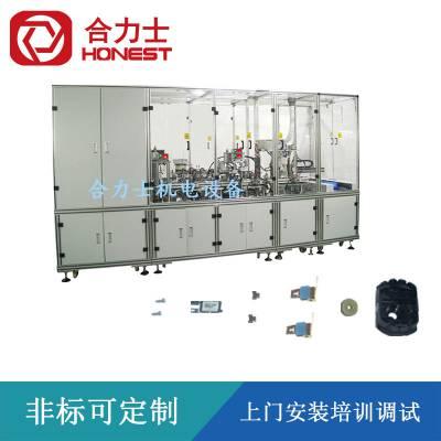 电机后盖自动化组装生产线