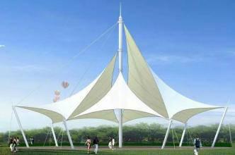 膜结构车棚价格-创锦帆装饰膜结构-无锡膜结构
