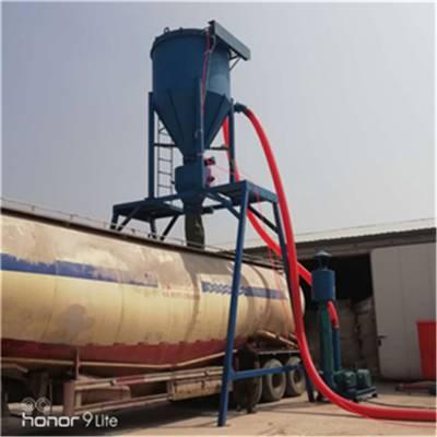超越供应水泥石灰气力装车机轮船炉渣钙粉脉冲式除尘转运气力输送机气力散粮长距离装车机吸粮机