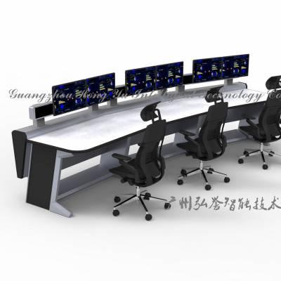 监狱指挥监控中心控制台 指挥台 调度台 专业操作台 监控台 生产定制厂家