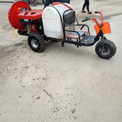大容量打药车 四轮手推式喷雾机手推式汽油喷雾器 慧聪机械厂家批发