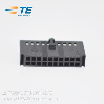 原装TE TYCO AMP泰科接插件2.54间距20芯 102387-4热卖