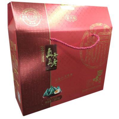 团购价78元真真老老真传粽子礼盒1.28kg十枚粽子武汉2019