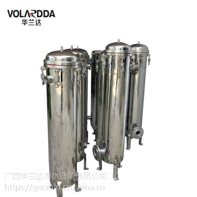 广西袋式过滤器,各种滤花生油杂质非标袋式过滤找华兰达微孔袋过滤器