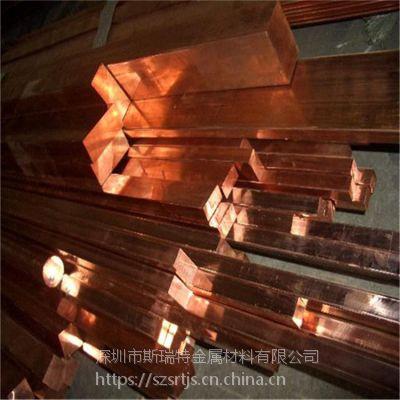 进口紫铜排 C1100电极铜排 高导电易车削紫铜排