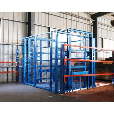 导轨货梯 导轨式升降货梯 厂房货梯 固定式升降货梯 液压货梯
