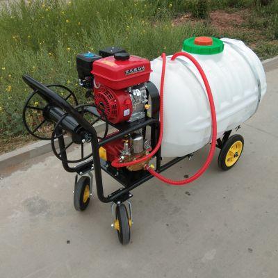 100-400高压远程打药机/养殖场消毒灭菌喷雾器/园林手推式打药机