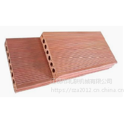 WPC 新生态材料户外阳台家用木塑复合地板生产线设备