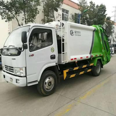 东风多利卡5方压缩垃圾车规格型号/配置/参数