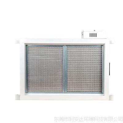 中央空调系统管道空气除尘装置学校新风管道净化器新风净化机厂家利安达