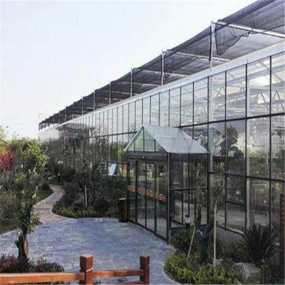 山东青州玻璃大棚建设多少钱一平米