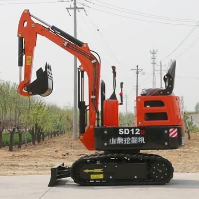 西安履带小型挖掘机苹果园用 家用小挖机生产厂家