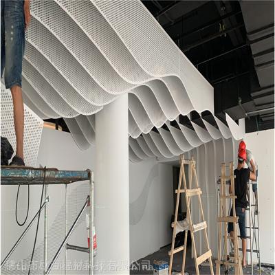 供应圆孔,方孔,不规则排列,冲孔铝单板, 冲孔铝单板幕墙