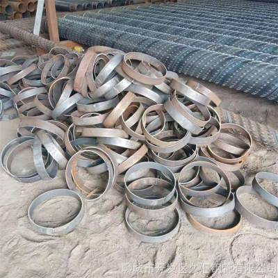 钢制600*4降水井铁管800mm冲孔滤管久汇井管库存足